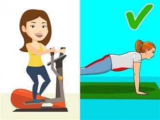 9 bài tập hàng ngày phù hợp để phụ nữ U50 giảm cân, giữ dáng và cải thiện sức khỏe