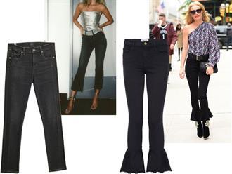 9 kiểu quần jeans phá cách bạn nên thử ngay mùa xuân này