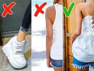 9 kiểu trang phục đã lỗi mốt, cần loại ngay khỏi tủ mà có thể nhiều chị em còn chưa biết