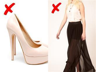 9 kiểu trang phục sẽ làm bạn mất điểm nghiêm trọng, cần phải loại bỏ ra khỏi tủ quần áo ngay lập tức