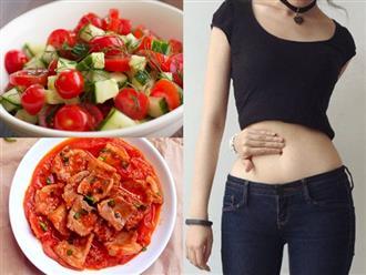 Cách giảm mỡ bụng bằng cà chua nhanh và hiệu quả ngay tại nhà