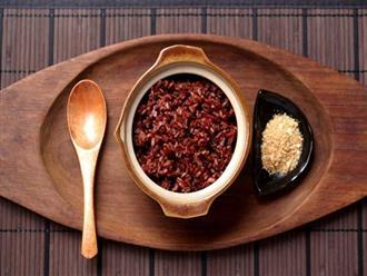Ăn gạo lứt muối mè đúng cách để giảm cân