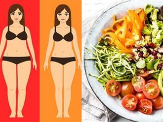Ăn theo chế độ cầu vồng vừa giúp giảm cân vừa cải thiện sức khỏe