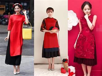 Áo dài cách tân phối váy: Trang phục mà phụ nữ nhất định phải diện trong ngày Tết