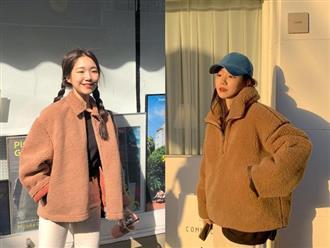 Áo khoác Teddy - chiếc áo khoác mềm mịn như gấu bông chính là item ấm nhất, dễ thương nhất mà bạn nên sắm đông này