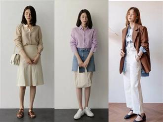 """Áo phông, chân váy hay quần âu - Loạt đồ có sẵn chỉ cần 20 cách """"mix"""" này là mặc đẹp suốt cả tháng 9"""