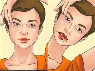 Muốn sở hữu làn da trắng mướt như gái Hàn, tươi trẻ như gái Nhật, hãy thực hiện 7 bài tập yoga cho khuôn mặt này mỗi ngày