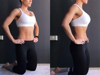 Bài tập giảm mỡ nhàn tênh cho người béo bụng và siêu lười