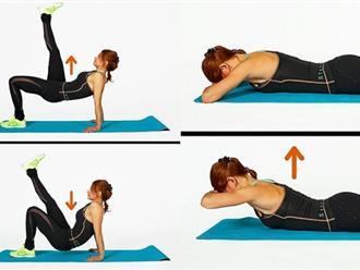 Chỉ trong 1 tháng - 7 bài tập này sẽ cho bạn vóc dáng nuột nà từ đầu đến chân
