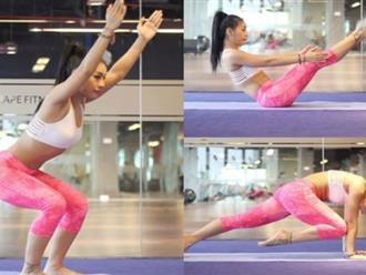 8 tư thế yoga giúp là phẳng mỡ bụng