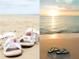 Bạn có biết 5 kiểu giày chuyên dùng ra biển?