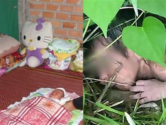 Xót xa bé trai sơ sinh còn nguyên dây rốn, có bàn tay 6 ngón bị bỏ rơi trong bụi rậm