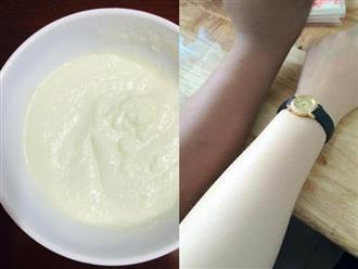 Bí kíp 'lột da' trắng như trứng gà bóc chỉ với 1 hộp sữa chua 6k, chị em 'rần rần' làm theo và cái kết