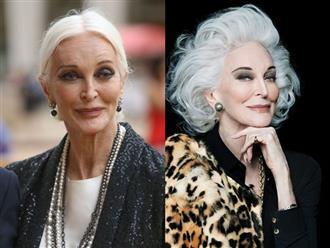 Bí mật làm nên vẻ đẹp bất diệt của huyền thoại thời trang 87 tuổi
