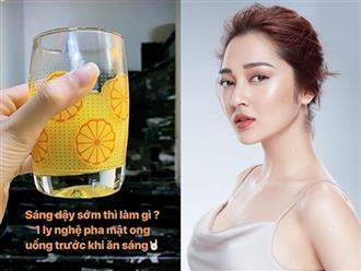'Học lỏm' các mỹ nhân Việt cách dưỡng da, giữ dáng và chống lão hóa từ nguyên liệu tự nhiên có giá 'rẻ bèo'