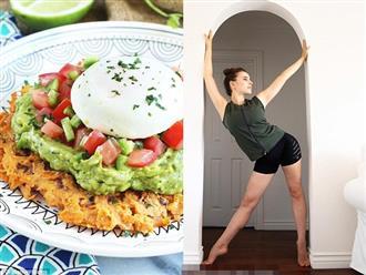 Bí quyết giữ dáng chuẩn của vũ công xinh đẹp này là ăn sáng lúc 11 giờ, bạn có muốn học theo cô ấy không?