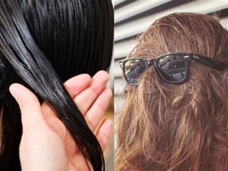 Bí quyết giúp thoát khỏi mái tóc nhờn bết vì thời tiết