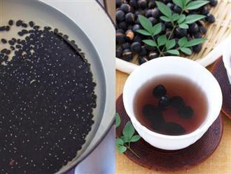 Bí quyết sở hữu eo thon da căng mướt của người Nhật bằng trà đậu đen