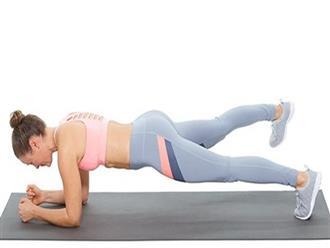Các bài plank tại nhà cực dễ cho ngày tết ăn uống thả ga không lo sợ béo bụng