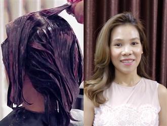 Chuyên gia hướng dẫn cách chăm sóc tóc nhuộm bền màu, không xơ rối, gãy rụng