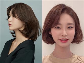 Cách để tóc ngắn Hàn Quốc cho mặt dài và mặt ngắn