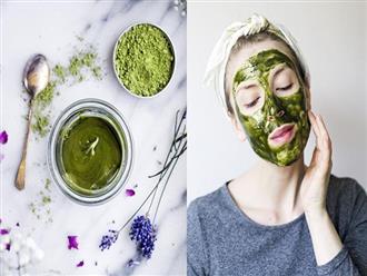 Dùng đủ loại thuốc đặc trị đến mỹ phẩm đắt tiền mà mụn và sẹo thâm vẫn chi chít, hãy thử công thức trà xanh này