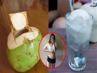 Uống nước dừa liên tục trong 7 ngày bằng cách này, cân nặng giảm đến 'chóng mặt'
