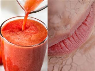 Cách giúp cơ thể ngậm nước tự nhiên dành cho người lười uống nước: Ai môi khô, da nứt nẻ, tóc gãy rụng hay đau đầu nhất định phải biết