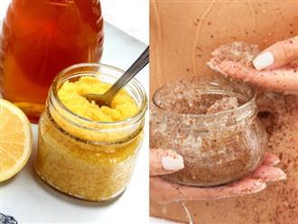 Tự làm kem tẩy da chết toàn thân tại nhà, nguyên liệu tự nhiên 'rẻ bèo' mà hiệu quả như mỹ phẩm tiền triệu
