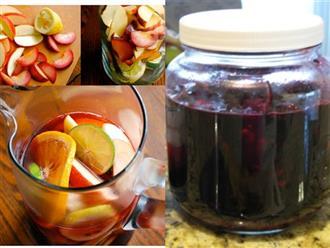 Làm sẵn lọ rượu trái cây theo cách này để uống trong ngày Tết, vừa đẹp da vừa giữ dáng