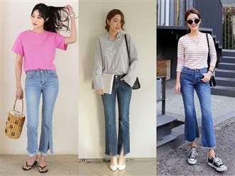 Phụ nữ U40 muốn trẻ trung hơn tuổi, học ngay cách phối đồ đi chơi với quần jean này