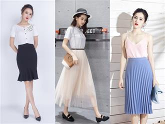 'Ngây ngất' cùng 5 phong cách phối đồ với chân váy dài HOT nhất mùa Thu – Đông 2017