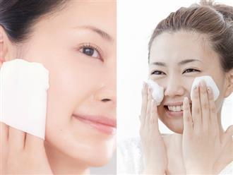 Rửa mặt theo cách này, da chỉ có ĐẸP trở lên và giúp đẩy lùi đến 10 năm lão hóa