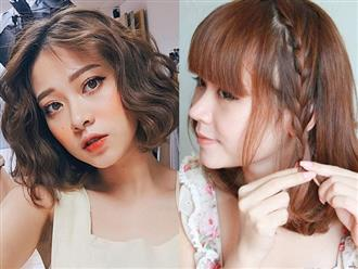 5 cách tạo kiểu cho tóc ngắn ngang vai cực trẻ trung, phụ nữ nhất định phải thử dịp hè này