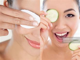 Cách xóa quầng thâm mắt hiệu quả giúp gương mặt toả sáng trong mùa Tết