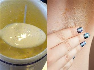 Cần gì nhíp hay dao cạo vừa đau đớn vừa ung thư vú, cứ thoa hỗn hợp này không những lông nách rụng sạch mà da dẻ còn vừa trắng vừa thơm