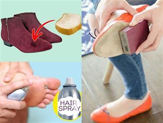 Cần gì ra tiệm, chỉ với 15 mẹo vặt này, giày của bạn sẽ luôn thơm tho và sáng bóng như mới