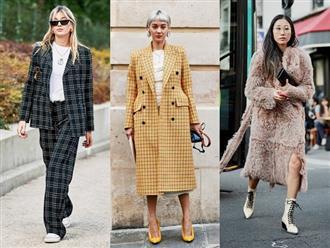 Cập nhật những kiểu áo khoác công sở cho mùa thu đông