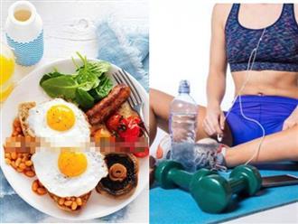 Không muốn béo ục ịch thì phải nhớ 'ba kiên trì' khi ăn và 'ba không làm' trước khi đi ngủ