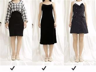 Chân to, ngắn hay vòng kiềng mà cứ mặc những kiểu váy thì bị chê cũng chẳng oan!