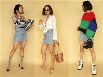Chân váy denim thì quá quen thuộc, nhưng có tới tận 8 cách mix này liệu bạn đã biết chưa