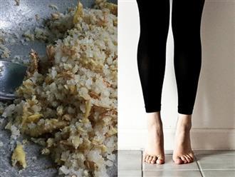Chỉ 1 nhúm muối, bắp chân, đùi sẽ thon nhỏ như người mẫu mà không cần đi hút mỡ – bí quyết đơn giản và hiệu quả nhất quả đất