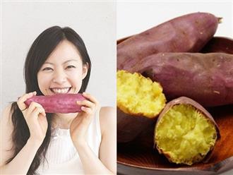 Chỉ cần ăn khoai lang theo cách này bạn sẽ giảm được 2kg/tuần