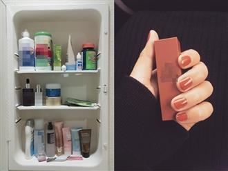 Chỉ tên 5 món mỹ phẩm nhất định phải cho vào tủ lạnh nếu muốn hiệu quả gấp 7 thậm chí 10 lần, món số 4 ai cũng bất ngờ khi biết
