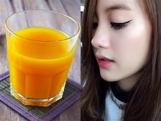 Phụ nữ U40 sở hữu làn da khỏe đẹp nhờ uống ly nước ngăn ngừa lão hóa này sau khi thức dậy