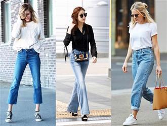 Chọn jeans cho nàng 'nấm lùn' ăn gian chiều cao