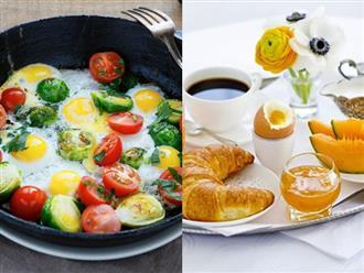 Chuyên gia chia sẻ thực đơn ăn sáng kích thích cơ thể đốt cháy chất béo giúp giảm cân cực nhanh