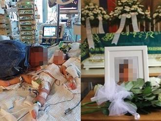 Giây phút cuối đầy nước mắt của bố bên cạnh con gái 2 tuổi bị mẹ đẻ bạo hành đến chết