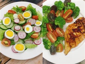 Có bộ sưu tập 5 món salad này tôi đã giảm hẳn 3kg trong 1 tuần!
