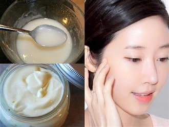 Học cách làm kem dưỡng ban đêm từ Nhật Bản, da trắng hồng, mịn màng 'thách thức thời gian'